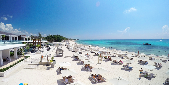 Top beach clubs in Playa del Carmen